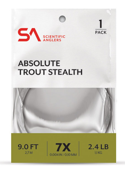 Scientific Anglers Absolute Trout Stealth Leader Vorfach 9ft
