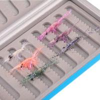 Seatrout Big UV Saltwater Shrimp #6 Meerforellen Fliegenset