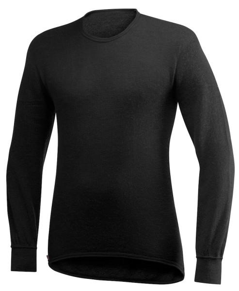 Woolpower Crewneck 200 Langarmshirt black