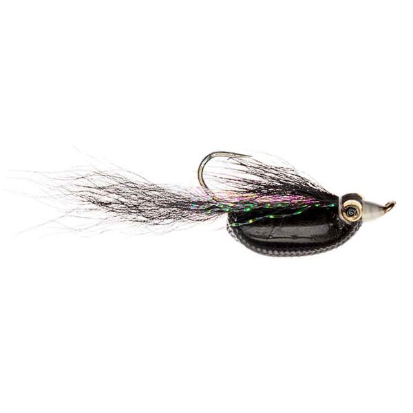 Catchy Flies Streamer - CF102 UH Rattler Black