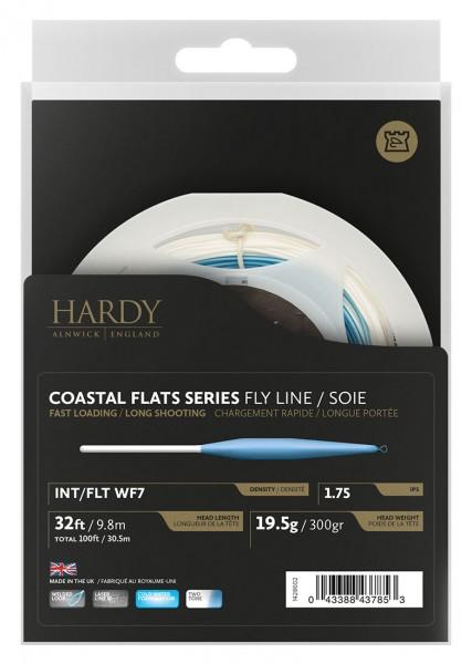 Hardy Coastal Flats Series Fliegenschnur float / fast intermediate