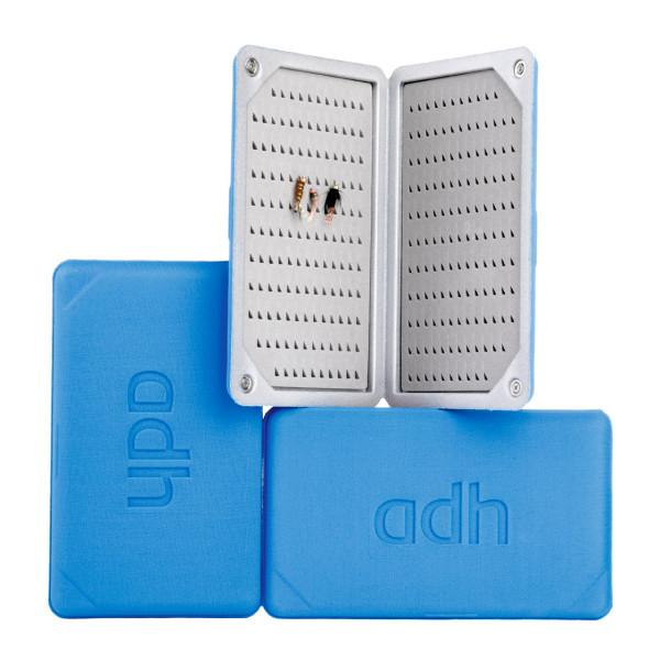 adh-fishing Foam Fly Box Fliegendose Nymph Ultralight blue