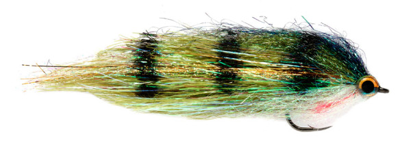 Fulling Mill Hechtstreamer - Clydesdale Green Perch