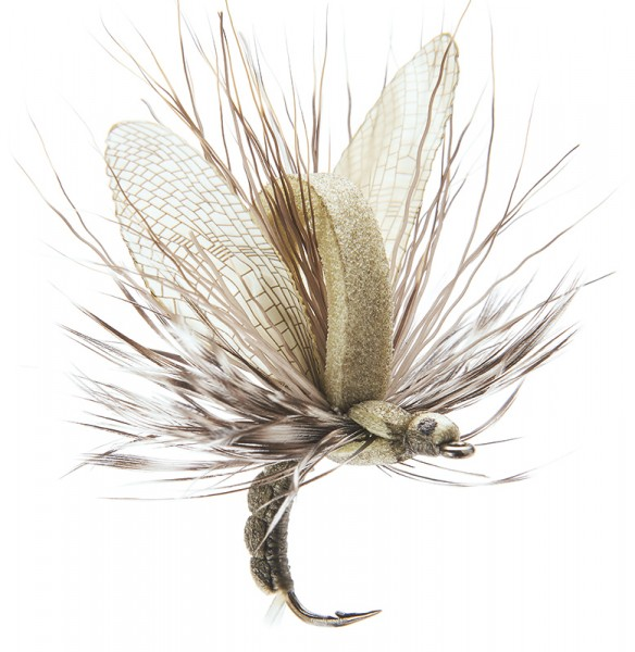 J:son Realistic Flies - Mayfly Emerger light olive