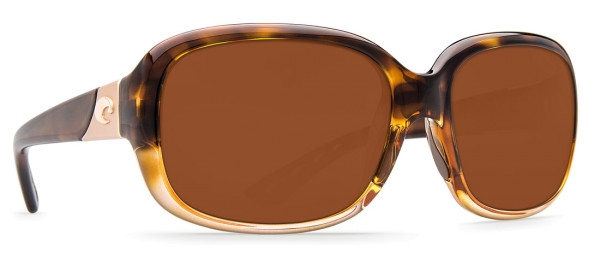 Costa Polarisationsbrille Gannet Shiny Tortoise Fade (Copper 580P)