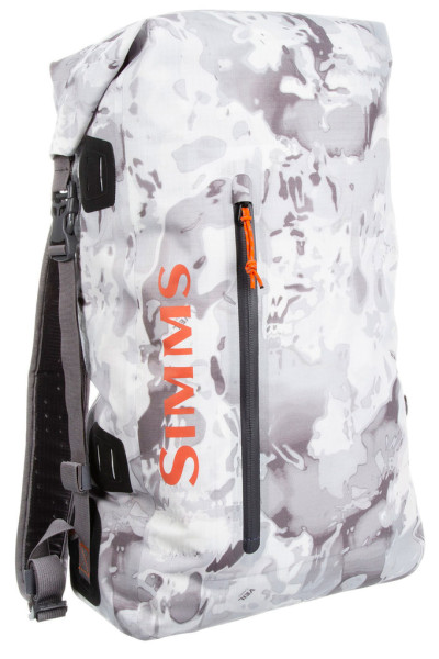 Simms Dry Creek Simple Pack 25l cloud camo grey