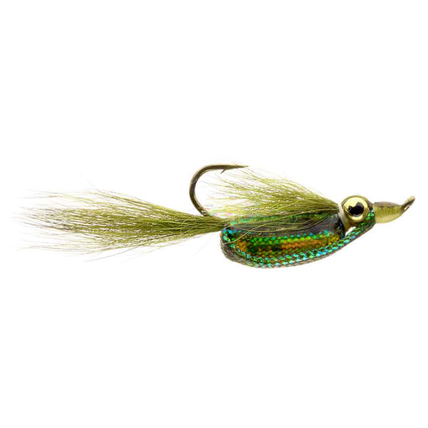 Catchy Flies Streamer - CF103 UH Rattler Olive