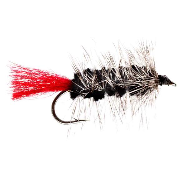 Kami Flies Streamer - Wolly Worm black