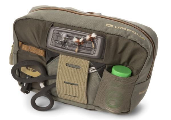 Umpqua ZS2 Wader Chest Pack Tasche für Wathosen olive