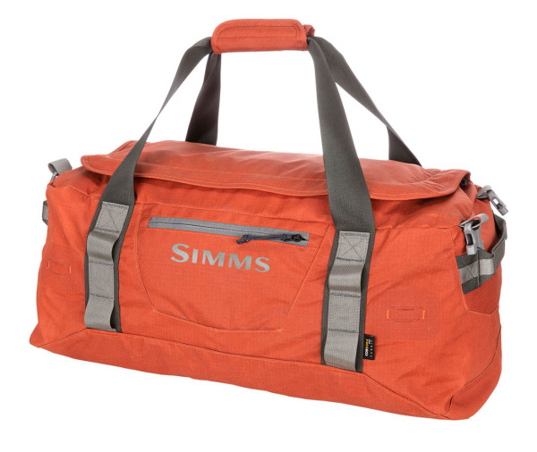 Simms GTS Gear Duffel 50L Reisetasche simms orange