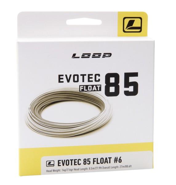 Loop Evotec 85 Fliegenschnur Floating