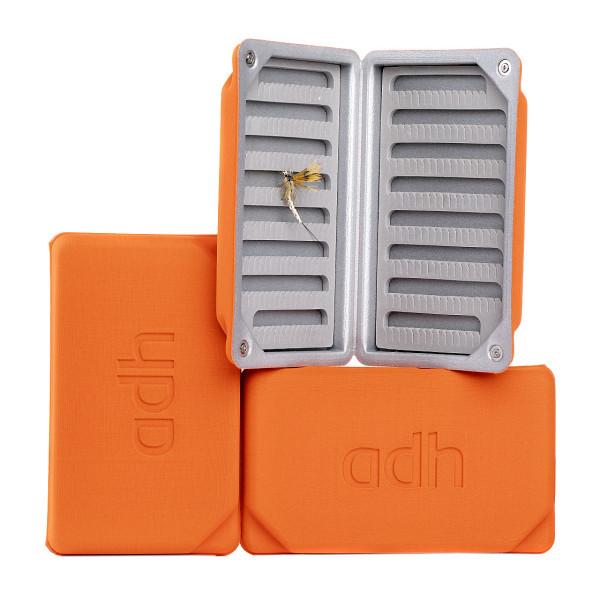 adh-fishing Foam Fly Box Fliegendose Ultralight Large orange