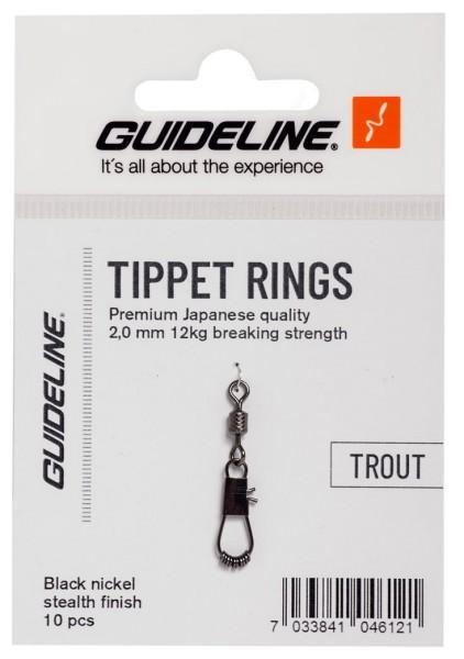 Guideline Tippet Rings 2 mm - Vorfachringe