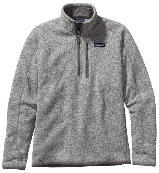 Patagonia Better Sweater 1/4 Zip Pullover STH stonewash (STH)