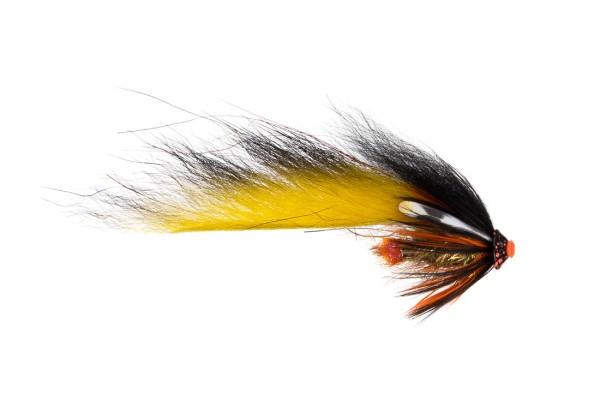 Future Fly FF Zonker Flies Tubenfliege 05 black yellow